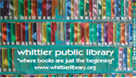 Whittier Public Library - Library Card