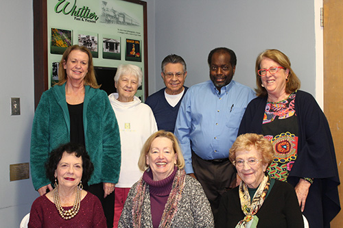 Bottom from left: Lorayne Horka, Lynne Mook, Jean Good Lietzau Top from left: Carlye Olsen, Trudy Wallis, Joe Gonzales, Rubin Johnson, Gail Chabran